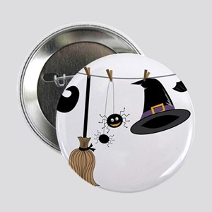 "Witch Clothing 2.25"" Button"